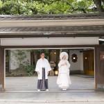 古式ゆかしい和の結婚式 at 住吉神社・三光園