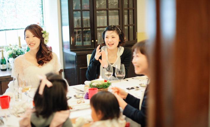 家族だけの結婚式, レストランウエディング福岡,レストランウエディング北九州,フリーウエディングプランナー福岡,結婚式食事会