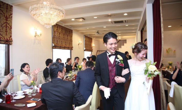 結婚式、エタンセールカワモト、少人数結婚式、レストランウエディング 、福岡結婚式、北九州結婚式、フリーウエディング プランナー福岡