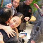 結婚式の帰り道